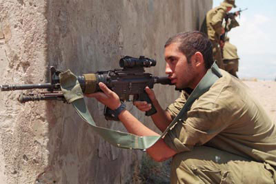 Archive Photo by IDF Spokesperson M4 and ACOG | The IDF Carbine