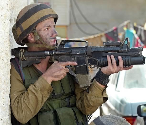 M203 and Carbine IDF | The IDF Carbine