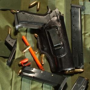 Jericho Pistol in Front Line IDF IWB Holster