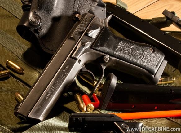 IDF Jericho Pistol Frame Safety