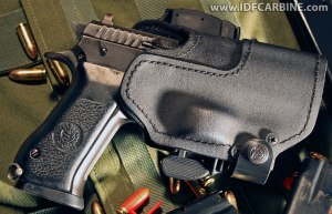 Kydex New Generation (KNG) Holster with side-release retention system