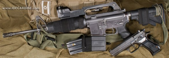 IDF KISS Carbine Jericho Mepro M21